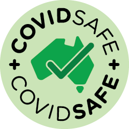 VRJ Covid Safe Icon