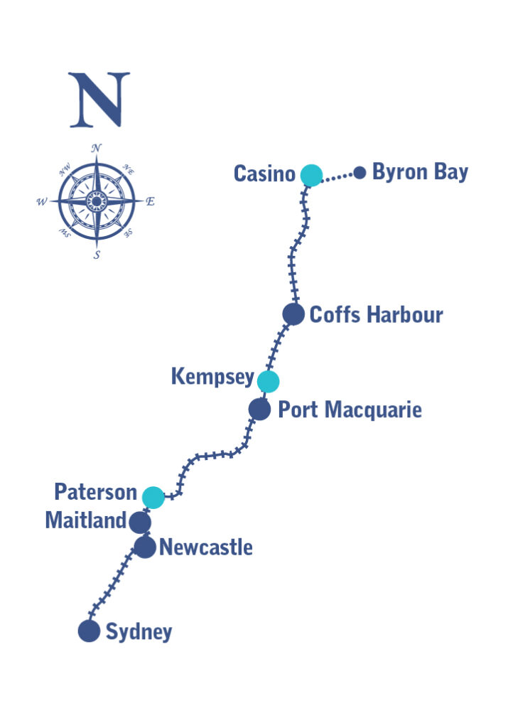 Northern Rivers Map Overnight 2022 01